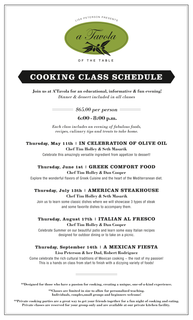 Cooking Classes Boise